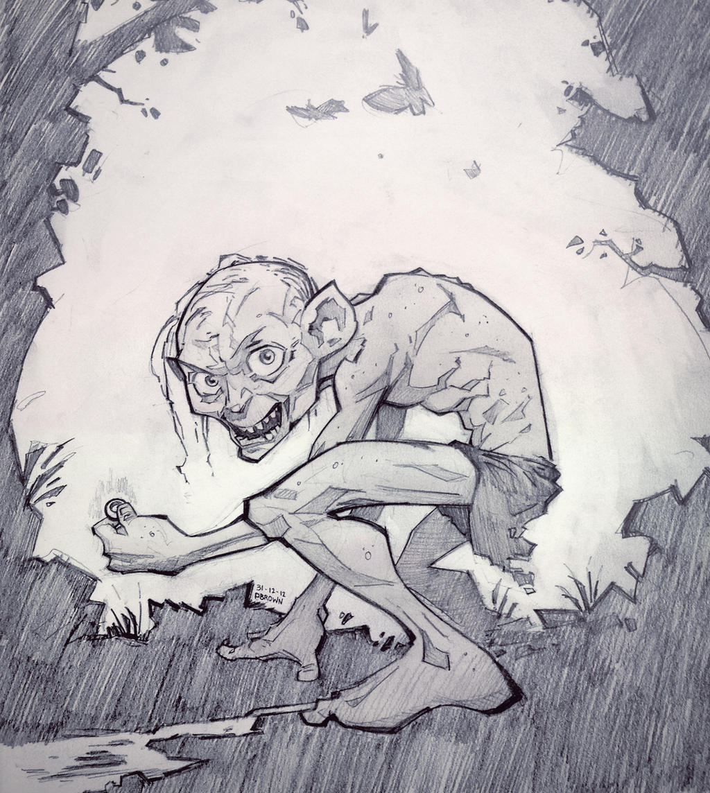 Smeagol by PatrickBrown