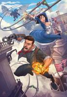 Bioshock Infinite by PatrickBrown