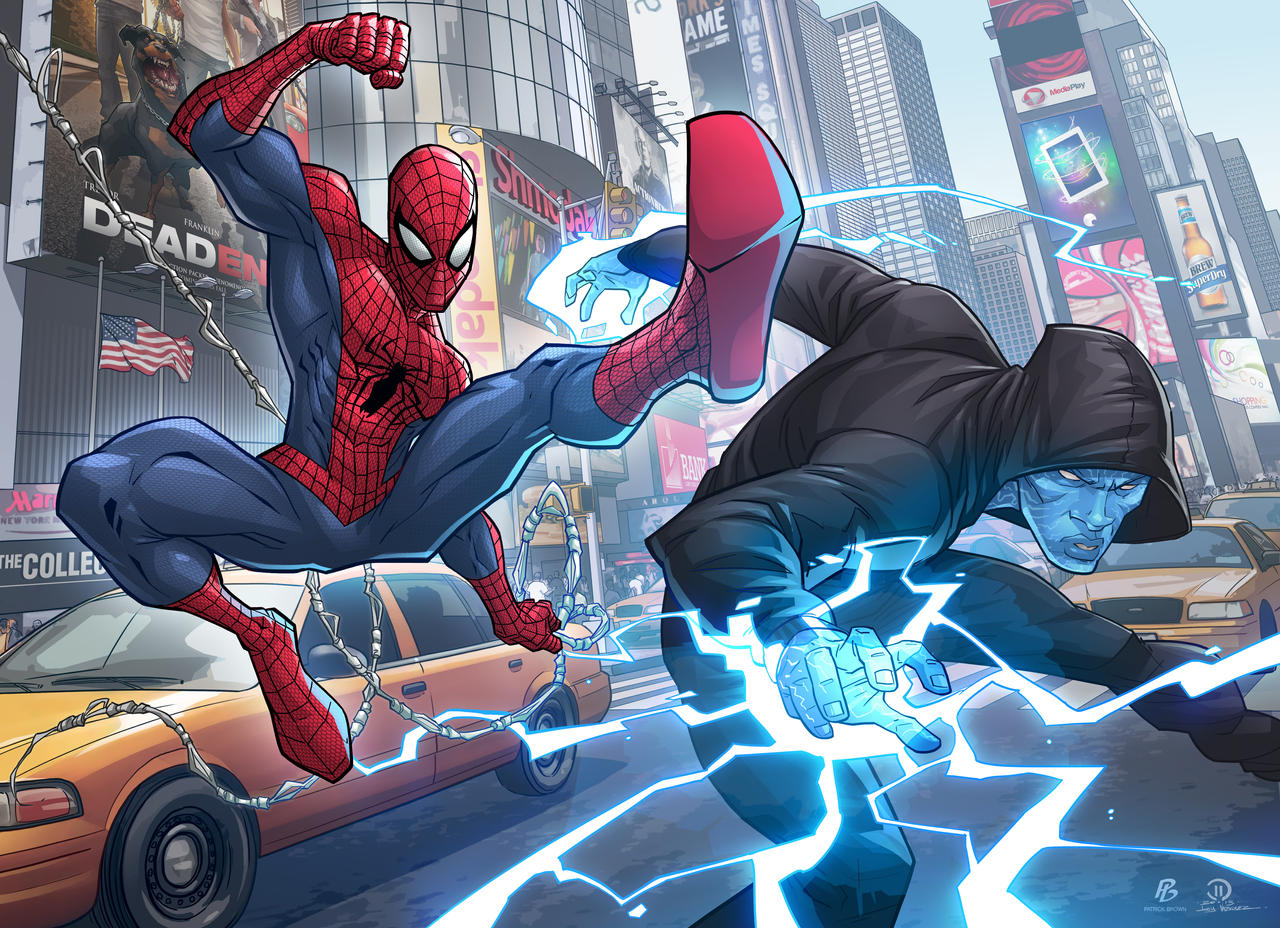 The Amazing Spider Man 2 By PatrickBrown