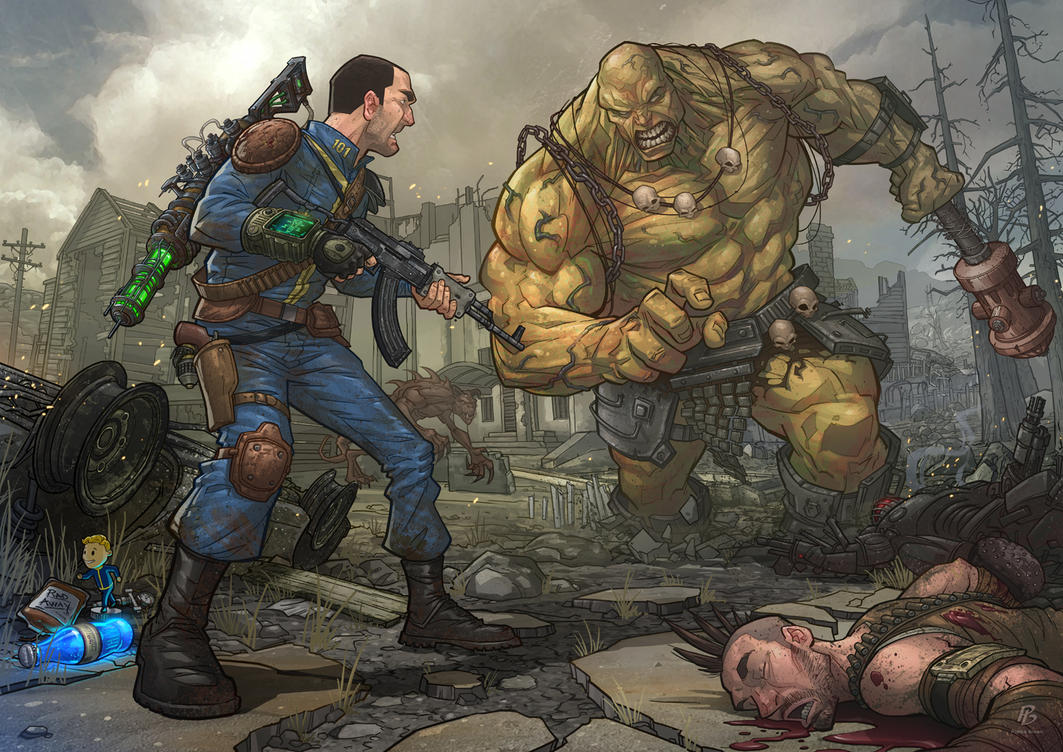 Art Fallout 2014  >> Fallout 3 By Patrickbrown On Deviantart