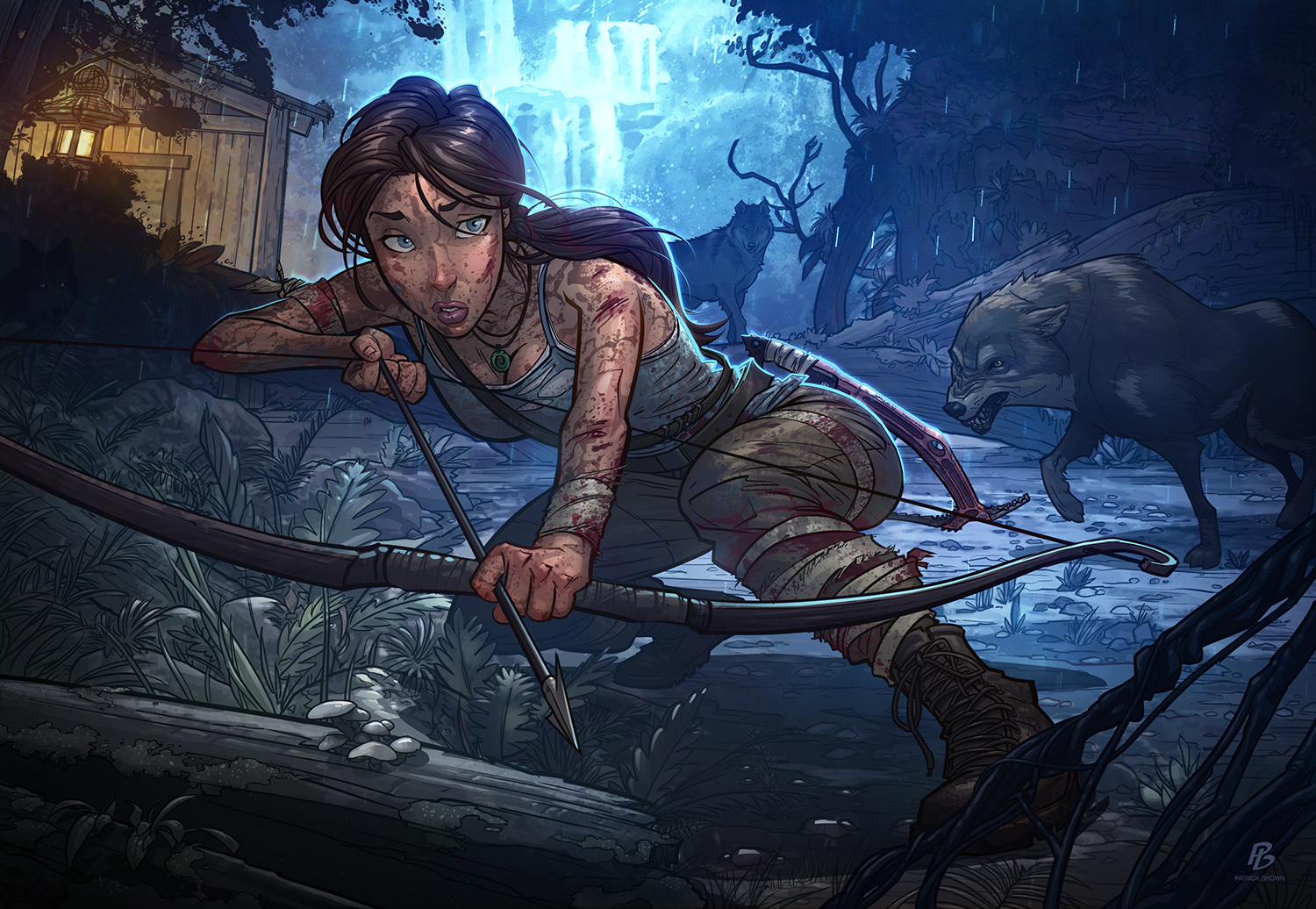 Tomb Raider - Definitive Edition by Patrick Brown - Illustrateur width=