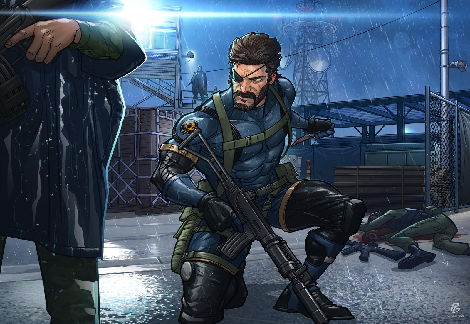 Metal Gear Solid Artwork: Metal Gear Solid V: Ground Zeroes By PatrickBrown On