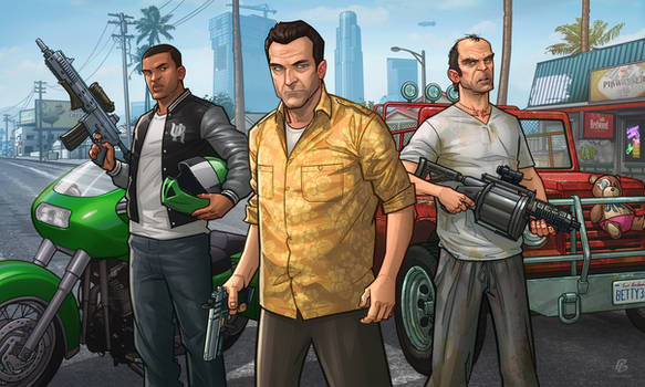 GTAV by PatrickBrown