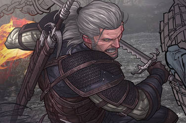 The Witcher 3 - Work in progress