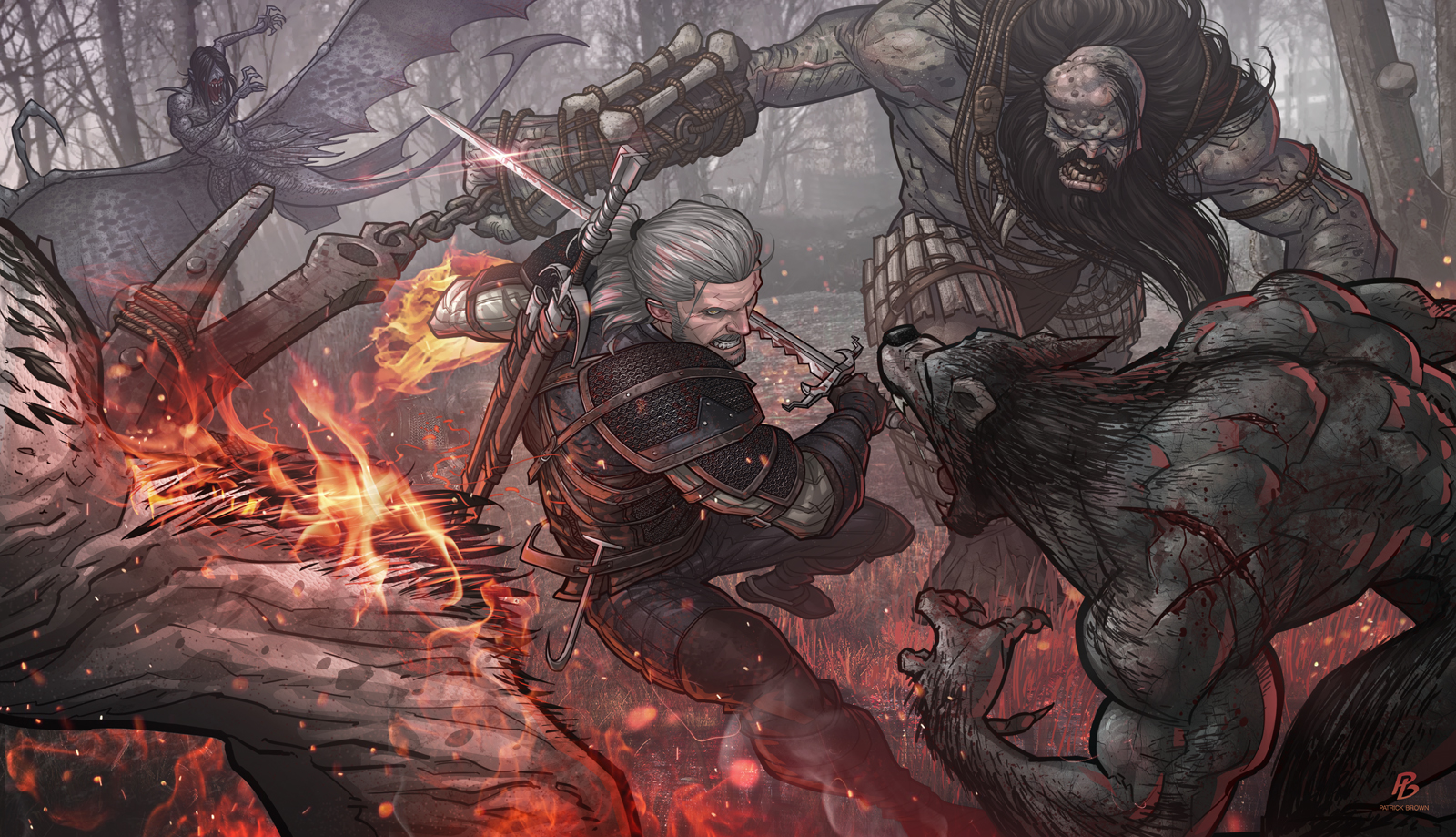 The Witcher 3 By PatrickBrown On DeviantArt