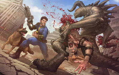 Fallout 4 by PatrickBrown