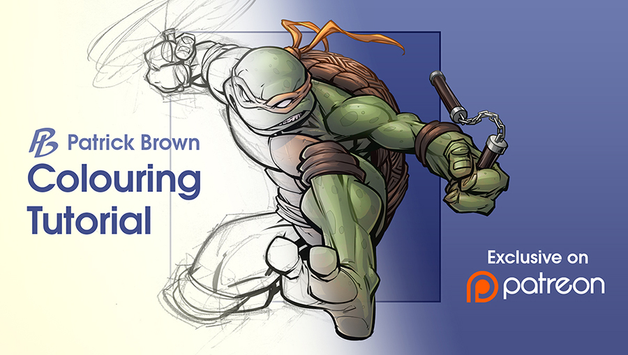Colouring tutorial on Patreon by PatrickBrown