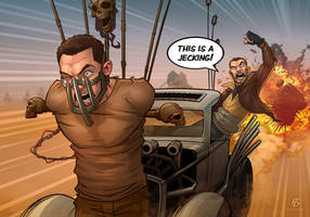 Niko Bellic - Mad Max 'jecking' by PatrickBrown