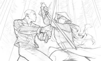 Star Wars The Force Awakens sketch