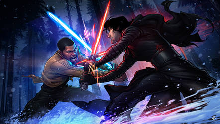 Star Wars: The Force Awakens by PatrickBrown