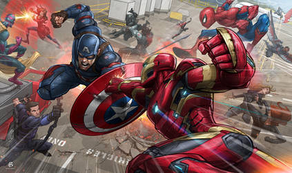 Captain America: Civil War by PatrickBrown