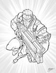 Soldier 76 - Overwatch