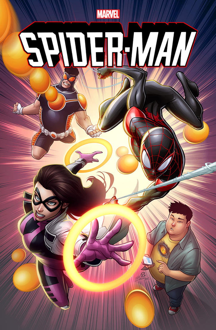 Spider-man #17 cover by PatrickBrown