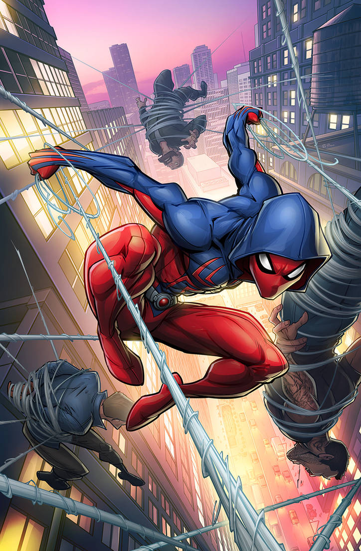 Scarlet Spider #2 Cover by PatrickBrown