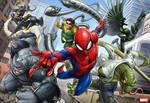 Spider-man chase