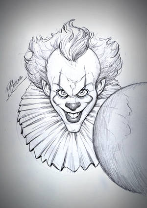 IT sketch giveaway by PatrickBrown