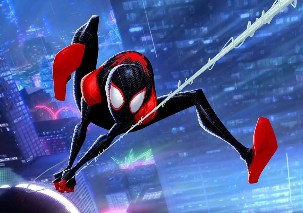Spider-Man: Into The Spider-Verse - Miles by PatrickBrown
