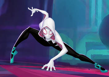 Spider-Man: Into The Spider-Verse - Gwen by PatrickBrown