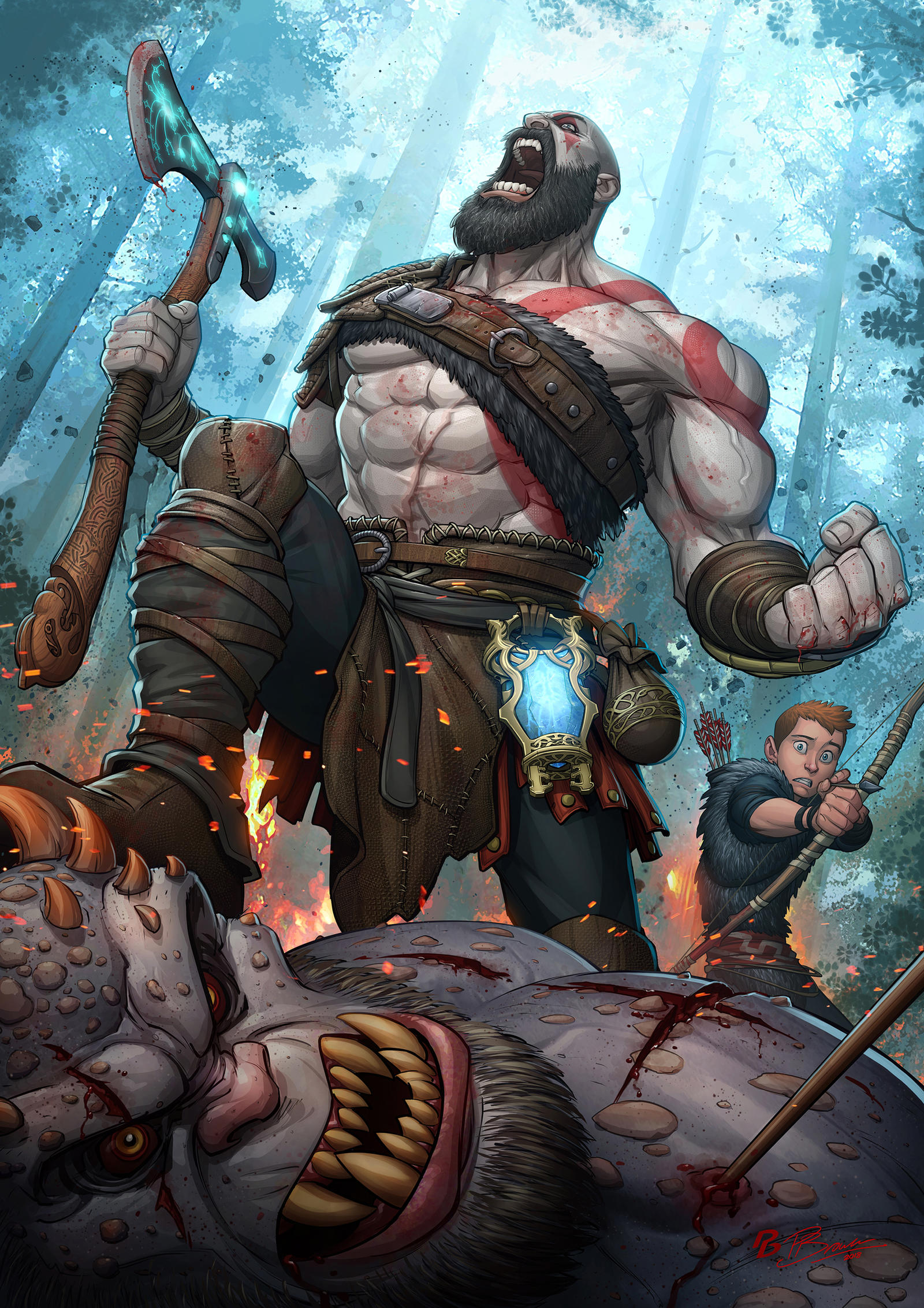 God of War by PatrickBrown