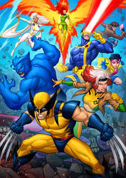 X-Men - 90s Animated Series by PatrickBrown