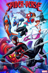 Spider-verse #1 variant cover