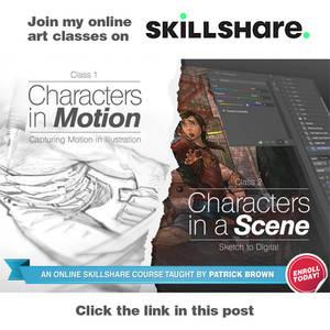 Take my art class on Skillshare