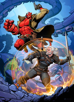 The Witcher vs Hellboy
