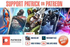 Support Patrick on Patreon