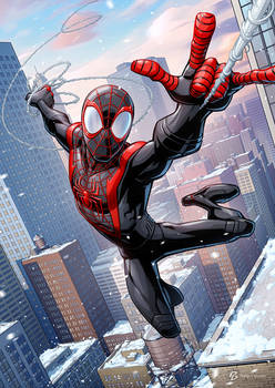Miles Morales - Spider-man PS5