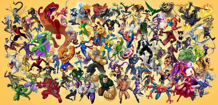 Marvel Tribute - Patreon Collab