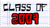 Class of '09 Stamp by Skarlet-Raven
