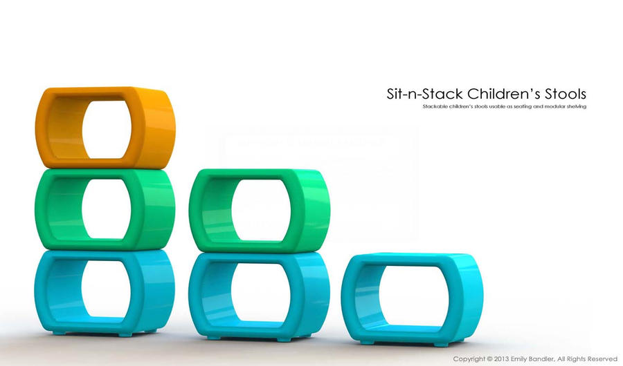 Sit N Stack Stools Portfolio Cover Page By Skarlet Raven