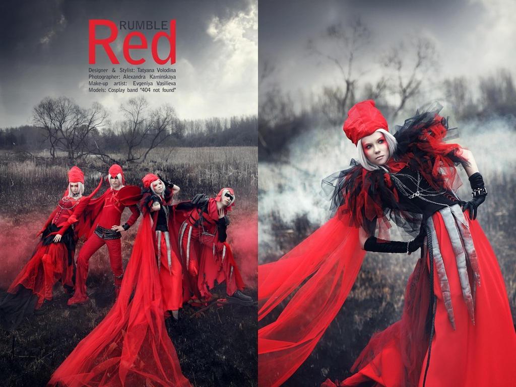 Rumble Red by Indie-vampire