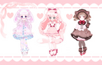 [CLOSED] Valentines Day Collab Adoptables
