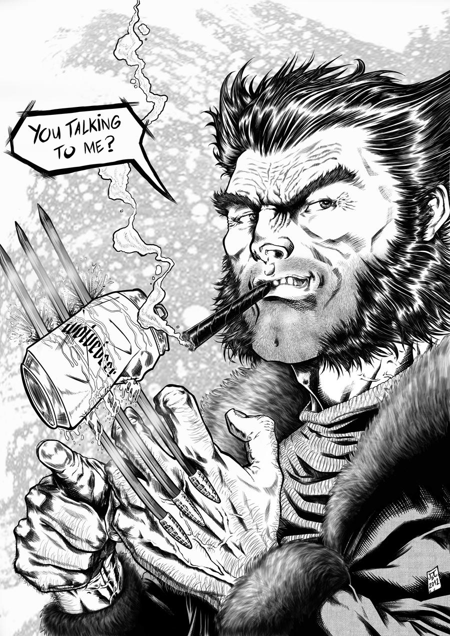WOLVERINE COMMISSION INKS 2012 by barfast