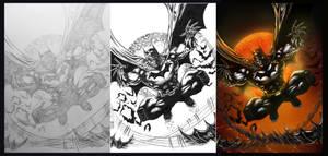 BATMAN 2012 STEP BY STEP
