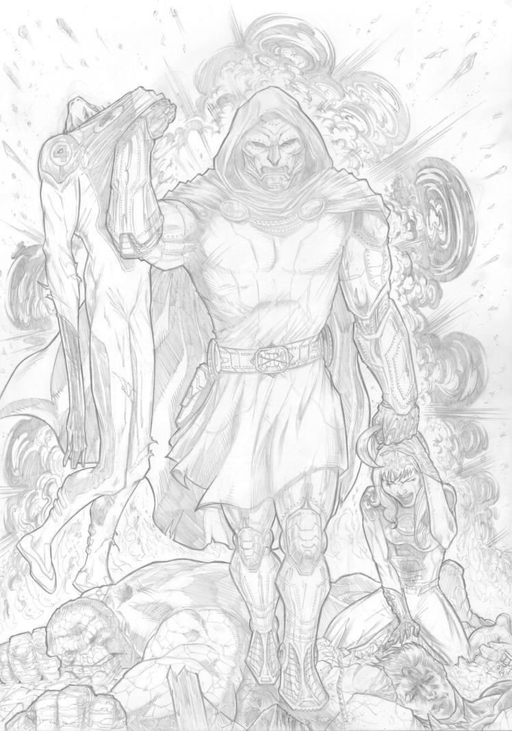 Doctor Doom 2014 by barfast