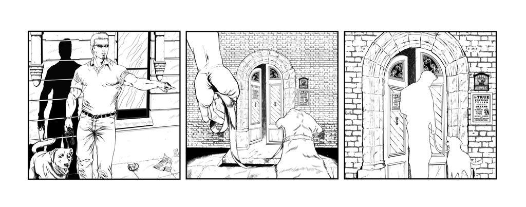 Darktown Square Mysteries  STRIP2- commission 2015 by barfast