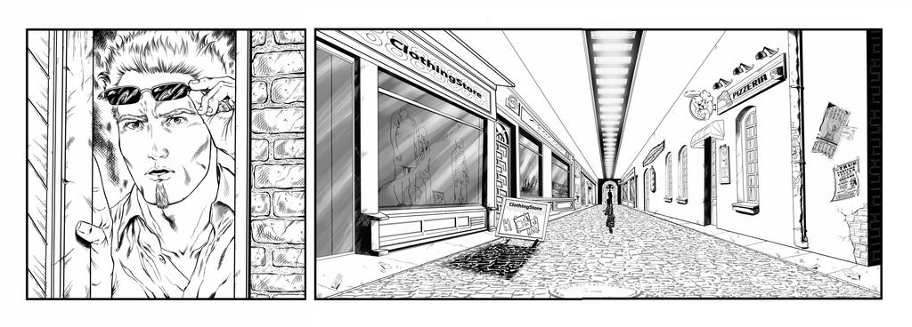 Darktown Square Mysteries  STRIP3- commission 2015 by barfast
