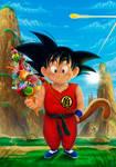 Goku 2017 by barfast