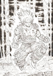 The first Super saiyan inks 2018 by barfast