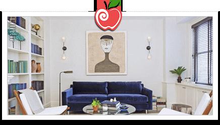 دکوراسیون با تابلوهای نقاشی مدرن