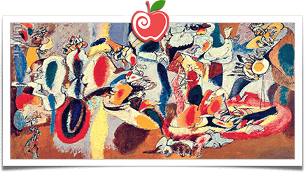 سبک نقاشی، اکسپرسیونیسم انتزاعی (Abstract Expressionism)