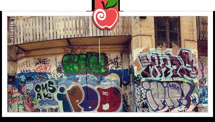 سبک نقاشی، دیوارنگاری (Graffiti)