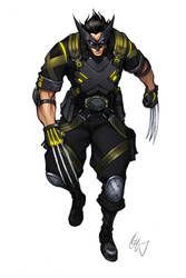 Wolverine Looking Sharp 1 by Grailee