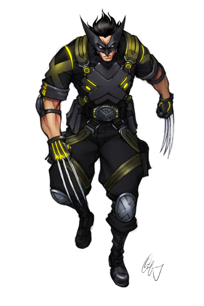 Wolverine Looking Sharp 1 by Grailee