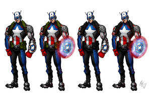 Captain America Redesign 1 by Grailee
