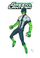 Green Lantern Redesign 2 by Grailee