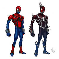 Spiderman Redesign 1 by Grailee