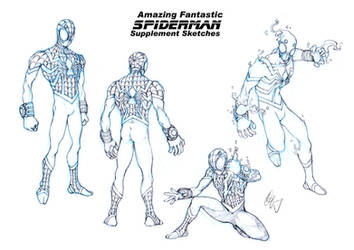 Spiderman Redesign 2 by Grailee